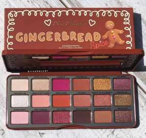 too-faced-natale-2018-gingerbread-palette colori