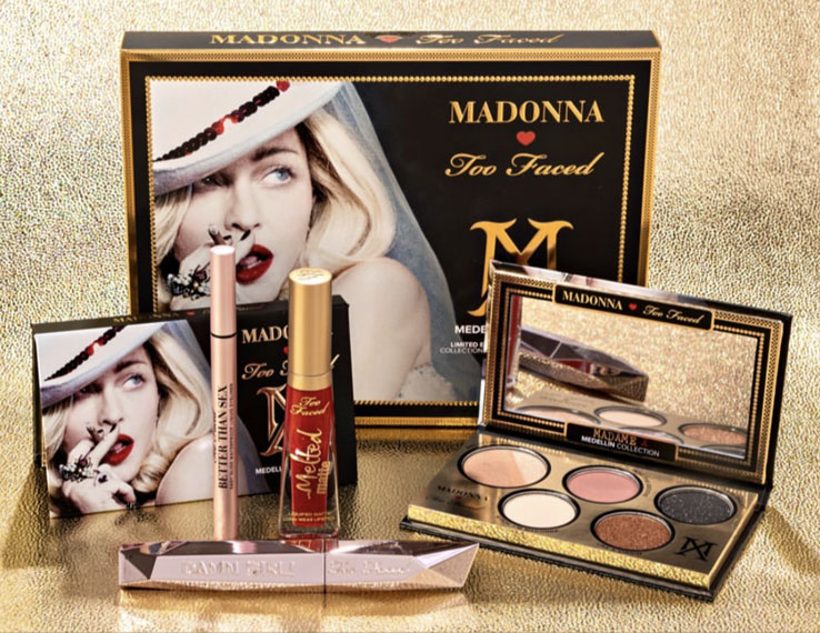 """The Madellin""- Too Faced per Madonna-makeupitalia"